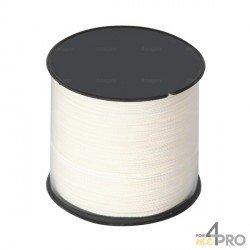 Cordeau nylon blanc Ø2.5mm - 200m