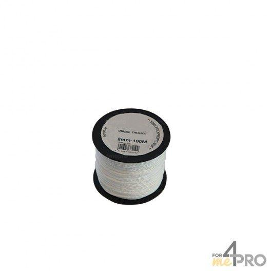 Cordeau polypropylène blanc Ø3mm