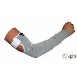 Manchette de protection anti-coupure 50cm résistante à la déchirure - Velcro ajustable - Norme EN 388 154x