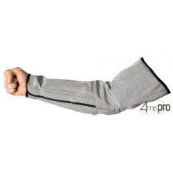 Manchette de protection anti-coupure de 50cm avec serrage velcro au poignet - Norme EN 388 2541