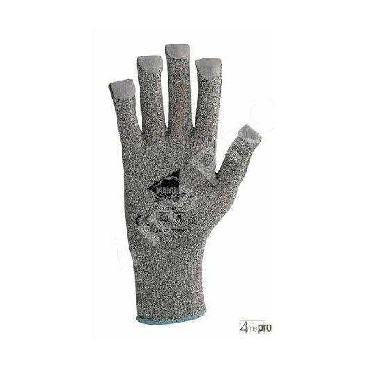 Gants anti-coupure en cuir - haute résistance à la chaleur - normes EN 388/EN 407