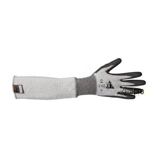 Gants anti-coupure avec manchette 50cm - enduction polyuréthane - norme EN 388 4542