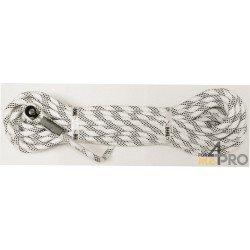 Corde industrie diam. 11mm avec boucle brevetée - 20m - EN 1891