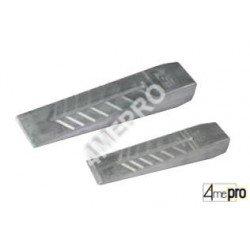 Coin à fendre en aluminium 0,6/1,2kg