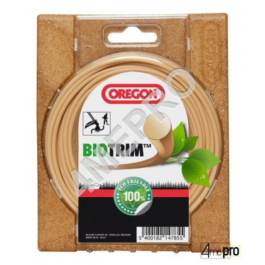 Fil nylon oxo-biodégradable biotrim+ 2 mm