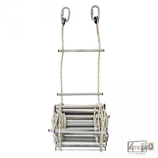 echelle de corde en polyamide 10 m 4mepro. Black Bedroom Furniture Sets. Home Design Ideas
