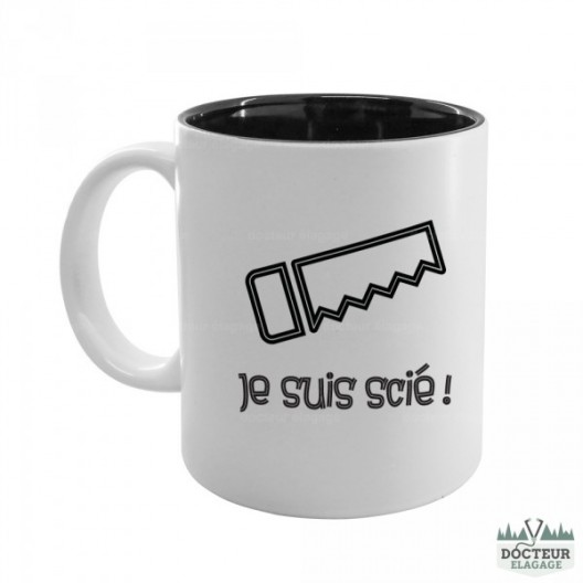 "Mug ""Je suis scié"""