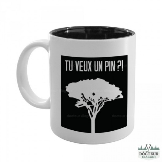 "Mug ""Tu veux un pin?"" 2"