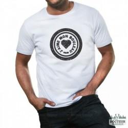 """T-shirt """"J'aime mon bouleau"""""""