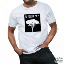 "T-shirt ""Tu veux un pin ?!"" 1"