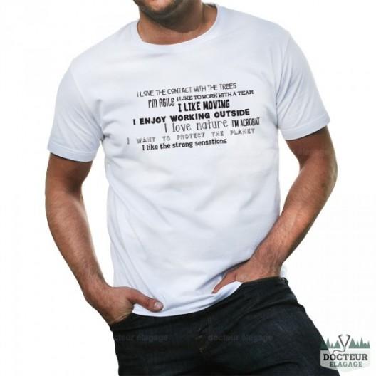 T-shirt élagueur