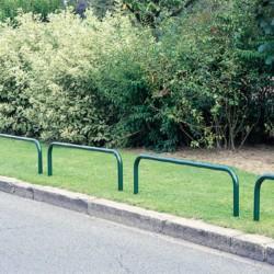 Arceau galvanisé espaces verts 180 x 65 cm + poudre polyester verte