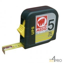 Mètre boitier ABS carré 3m