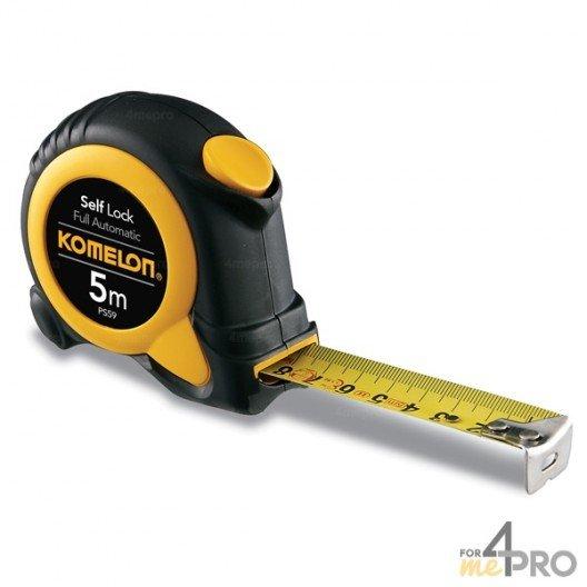 Mètre autobloquant pro 3m x 16mm