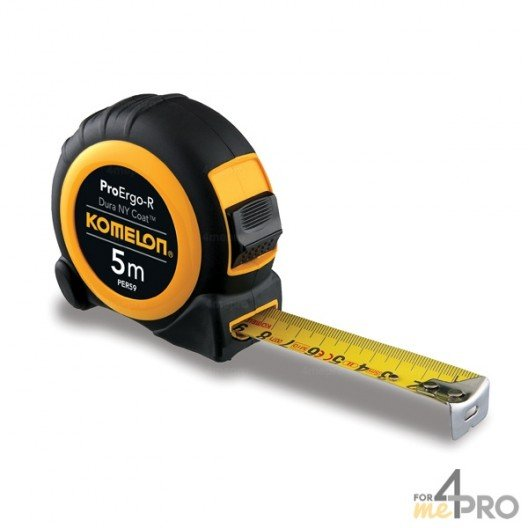 Mètre ergonomique pro 5m x 25mm