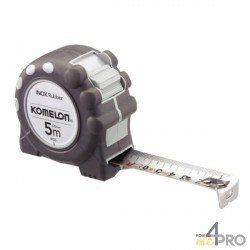 Mètre inox pro 3m x 16mm