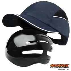 Casquette de protection Toutes saisons bleu marine NF EN812 A1