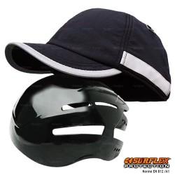 Casquette de protection Hiver noir NF EN812 A1
