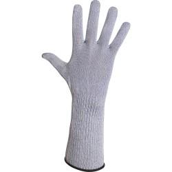 Gant anti-coupure et thermiques avec manchette - pour contact alimentaire - normes EN 388 454x / EN 407 x1xxxx