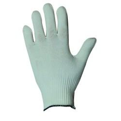 Gants de manutention fine - polyamide blanc sans enduction