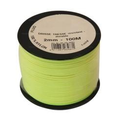 Cordeau nylon fluorescent Ø3mm - 100m