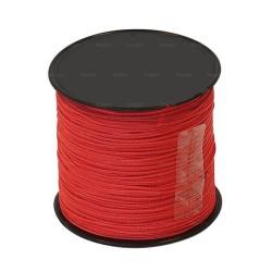 Cordeau nylon rouge Ø1mm - 100m