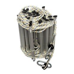 Echelle de corde en polyamide 10 m