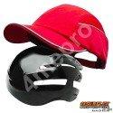 Casquette de protection Toutes saisons rouge NF EN812 A1