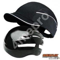 Casquette de protection Top short noir NF EN812 A1