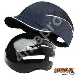 Casquette de protection Top short bleu marine NF EN812 A1