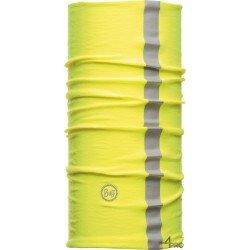 Bandeau multifonction de protection réfléchissant Buff Dry Cool jaune - Contre la chaleur et la poussière