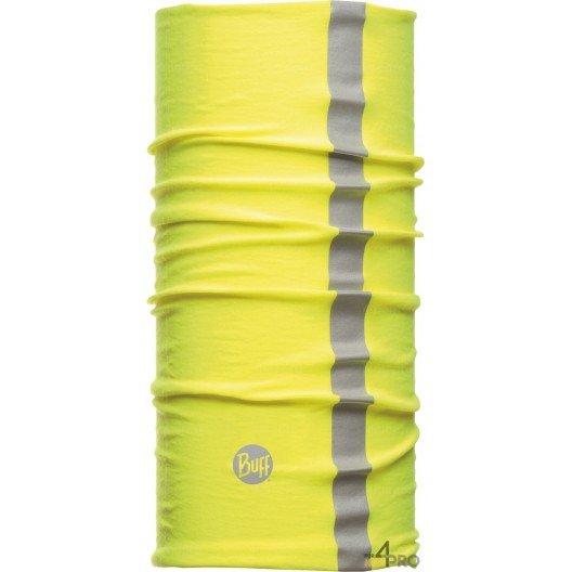 Bandeau multifonction réfléchissant de protection Buff Thermal jaune - Contre la chaleur et le froid