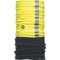 Bandeau multifonction de protection réfléchissant Buff Polar jaune et bleu - Contre le froid
