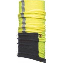 Bandeau multifonction de protection réfléchissant Buff Windproof jaune et bleu - Contre le vent et le froid