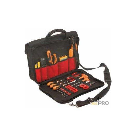 Sacoche porte outils et porte documents + PC