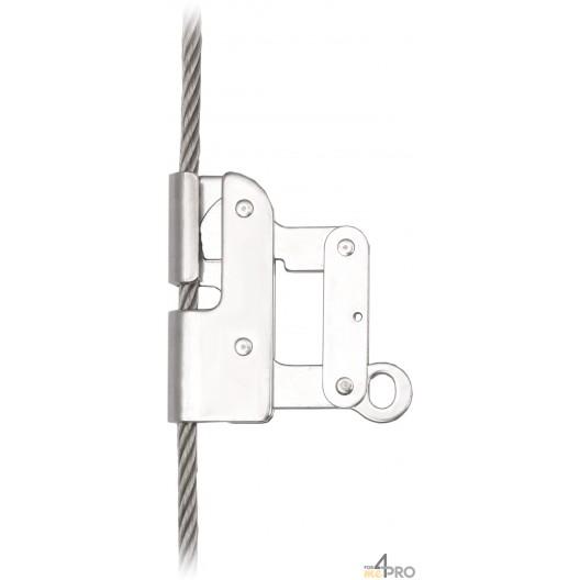 Antichute coulissant pour câble 8mm - EN 353-1