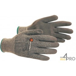 Gants anti-coupure de protection PU Nitrile Edge Supracoat - Milieu sec - Norme EN388 - 4542 CE CAT 2