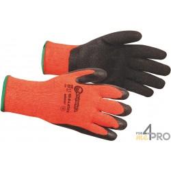 Gants anti-coupure de protection en Latex pour Hiver - Norme EN388 - 2242 CE CAT 2