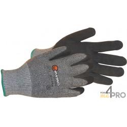 Gants anti-coupure de protection en Nitrile - Milieu gras et huileux - Norme EN388 - 4542 CE CAT 2
