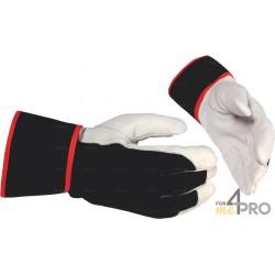 Gants anti-coupure de protection pour pièces chaudes - Norme EN388 - 2342 CE CAT 2