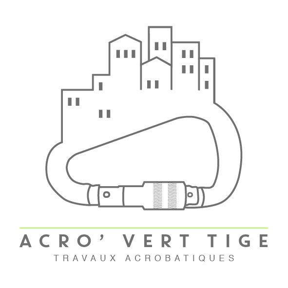Logo Acro vert tige